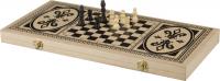 H4824 Набор 3 в 1 (нарды, шахматы, шашки)42*21