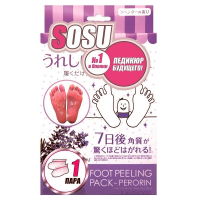 Японские педикюрные носочки Sosu 1 пара