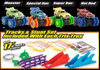 Машинки Trix Trux (Монстр-траки) машинка Трикс Тра