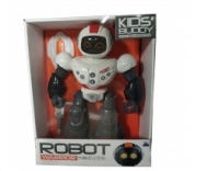 Робот на батарейках (свет, звук). 606-1