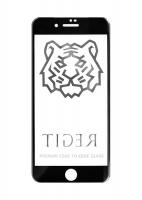 Защитное стекло для iPhone X Tiger 5D (Черный)