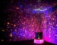 Ночник LED проектор звездного неба Star Master (Стар Мастер) USB