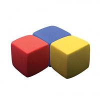 "Тянущийся песок ТМ ""Эластик"", синий, красный, желтый, 360 гр."