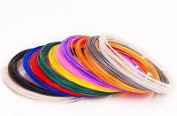Пластик для 3D ручек  ABS-12  (по 10 м. 12 цветов)