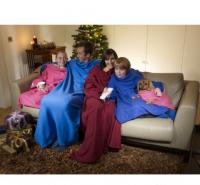 Одеяло - Плед - Халат с рукавами Cuddle Blanket+ (Куддле Бланкет+)